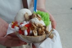 coconut ice-cream